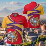 Armenia Special All Over Print Polo Shirt