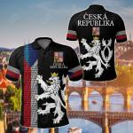 Czech Republic - United All Over Print Polo Shirt