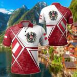 Austria - Austrian Legend All Over Print Polo Shirt