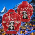 Christmas Edelweiss Switzerland Bernese Mountain Dog All Over Print Shirts