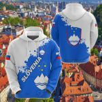 Slovenia Mount Triglav Version All Over Print Shirts