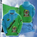 Tanzania Uhuru na Umoja Version All Over Print Shirts