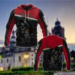 Customize Mexico Coat Of Arms - Reaper All Over Print Hoodies