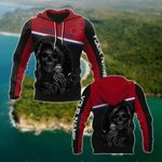 Customize Costa Rica Coat Of Arms - Reaper All Over Print Hoodies