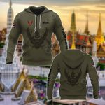 Customize Thailand Coat Of Arms Hoodies