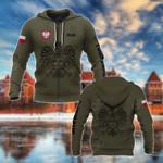 Customize Poland Coat Of Arms Hoodies