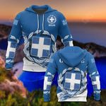 Hellas Coat Of Arms Special All Over Print Hoodies
