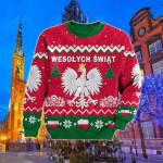 Poland Christmas Eagle Sweatshirt