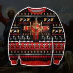 Jesus Saved My Life Ugly Christmas Sweatshirt