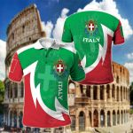 Italy New Style All Over Print Polo Shirt