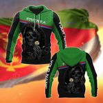 Customize Eritrea Coat Of Arms - Reaper All Over Print Hoodies