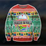 South Africa Ugly Christmas Style Sweatshirt
