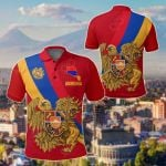 Armeria Special Flag All Over Print Polo Shirt