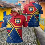 Colombia Legend All Over Print Polo Shirt