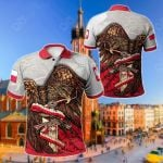 Poland Eagle Sword All Over Print Polo Shirt