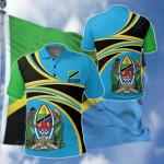 Tanzania All Over Print Polo Shirt