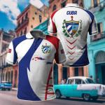 Cuba Apparel All Over Print Polo Shirt