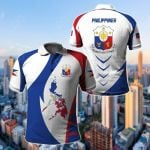 Philippines Apparel All Over Print Polo Shirt