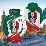 Mexico Skull Version All Over Print Shirts