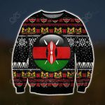 Kenya Pattern Ugly Christmas Sweatshirt