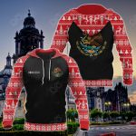 Customize Mexico Christmas All Over Print Hoodies