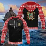 Customize Puerto Rico Christmas All Over Print Hoodies