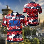 Scotland Christmas New Version All Over Print Polo Shirt