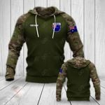 Customize Australian Army Camo All Over Print Hoodies