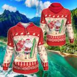 Hawaiian Christmas All Over Print Hoodies