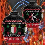 Malta Christmas All Over Print Hoodies