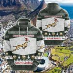 South Africa Springboks Christmas Ver02 All Over Print Hoodies