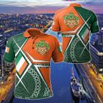 Ireland Celtic - Irish Legend All Over Print Polo Shirt