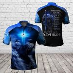Knights Templar - The Devil Saw Me With My Head Down All Over Print Polo Shirt