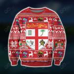 Fiji Ugly Knitting Pattern Christmas Sweatshirt