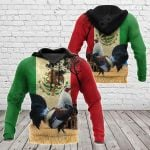 Mexico Rooster All Over Print Shirts