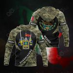 Customize Mexico - Guadalajara Coat Of Arms Camo All Over Print Hoodies