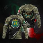 Customize Mexico - Mérida Coat Of Arms Camo All Over Print Hoodies