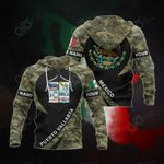 Customize Mexico - Puerto Vallarta Seal Camo All Over Print Hoodies