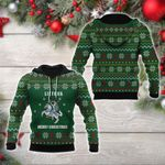 Lietuva - Lithuania Coat Of Arms Merry Christmas All Over Print Hoodies