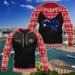 Customize Australia Christmas All Over Print Hoodies
