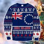 Cook Islands Polynesian Christmas - Ugly Christmas Style Sweatshirt