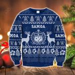 Samoa Polynesian Christmas - Ugly Christmas Sweatshirt