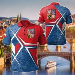 Czech Republic Legend All Over Print Polo Shirt