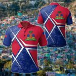 Haiti Legend All Over Print Polo Shirt
