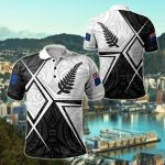New Zealand Legend All Over Print Polo Shirt