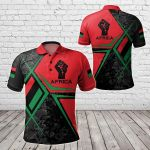 Pan Africa Legend All Over Print Polo Shirt