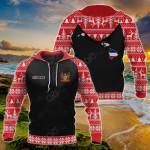 Customize Hawaii Christmas All Over Print Hoodies