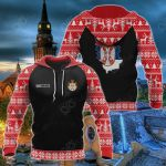 Customize Serbia Christmas All Over Print Hoodies