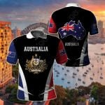 Australia Proud Of My Country All Over Print Polo Shirt