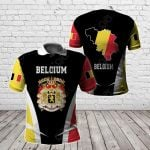 Belgium Proud Of My Country All Over Print Polo Shirt